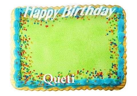 Happy Birthday Queti Cake Image