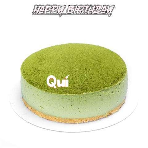 Happy Birthday Cake for Qui