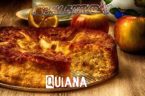Happy Birthday Wishes for Quiana