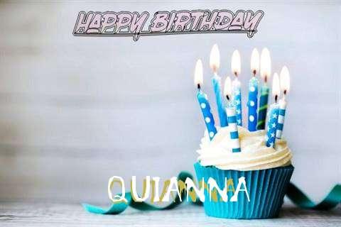 Happy Birthday Quianna Cake Image