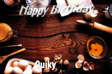 Happy Birthday to You Quiky