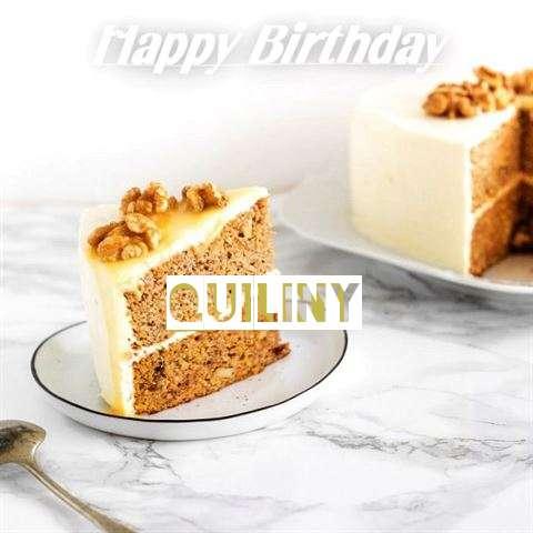 Happy Birthday Cake for Quiliny