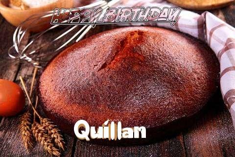 Happy Birthday Quillan Cake Image