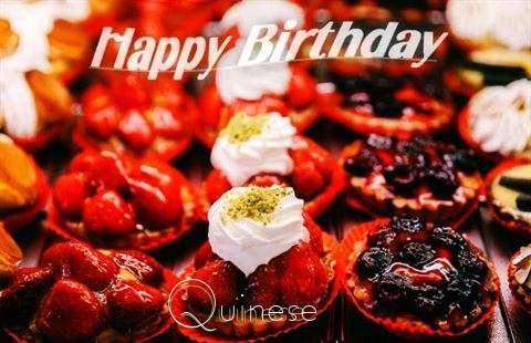 Happy Birthday Cake for Quinese