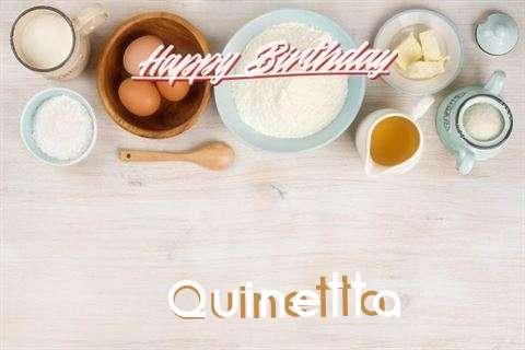 Happy Birthday Cake for Quinetta