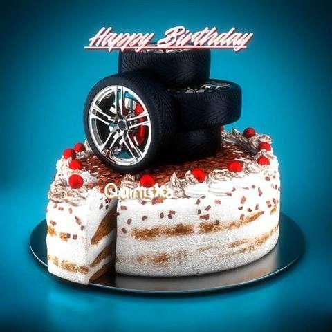 Happy Birthday Cake for Quinisha