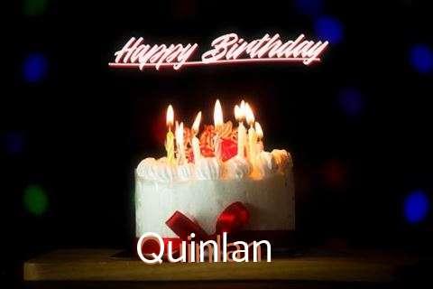 Happy Birthday Cake for Quinlan