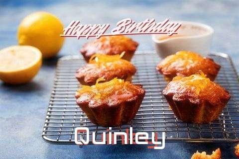 Happy Birthday Cake for Quinley