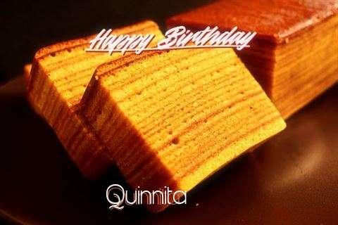 Happy Birthday Quinnita Cake Image