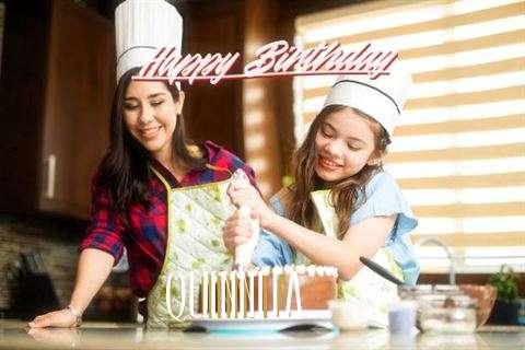 Happy Birthday Cake for Quinnita