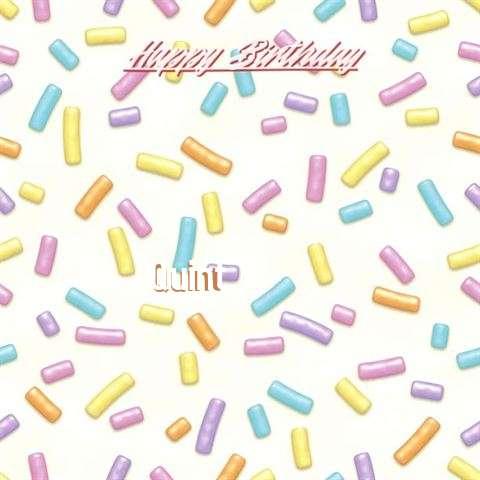 Happy Birthday Cake for Quint