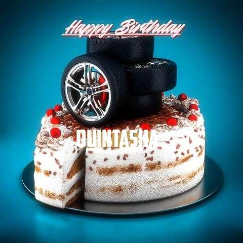 Happy Birthday Cake for Quintasha