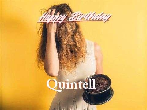 Happy Birthday Quintell Cake Image