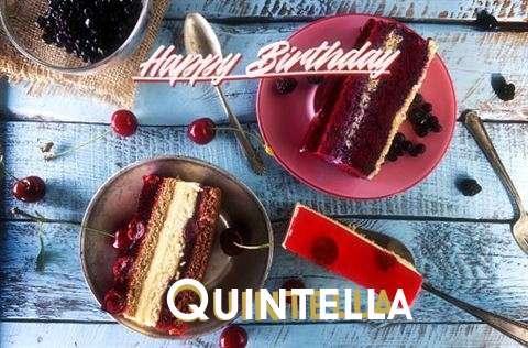 Happy Birthday Quintella Cake Image