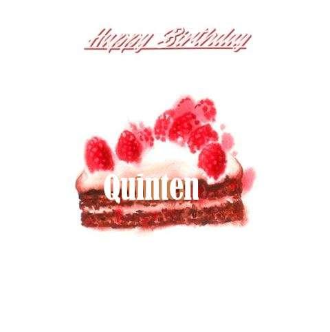 Happy Birthday Wishes for Quinten