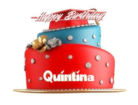 Happy Birthday Quintina