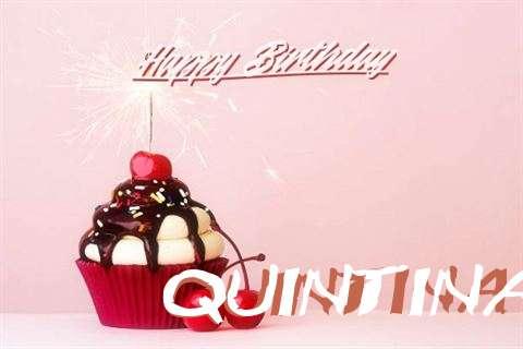Happy Birthday Quintina Cake Image