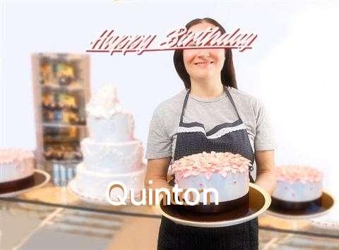 Happy Birthday Quinton Cake Image