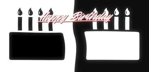 Happy Birthday Quinzell Cake Image