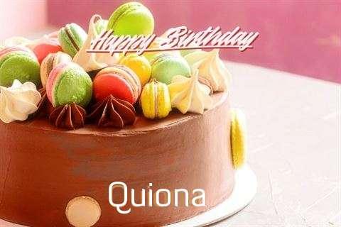 Happy Birthday to You Quiona