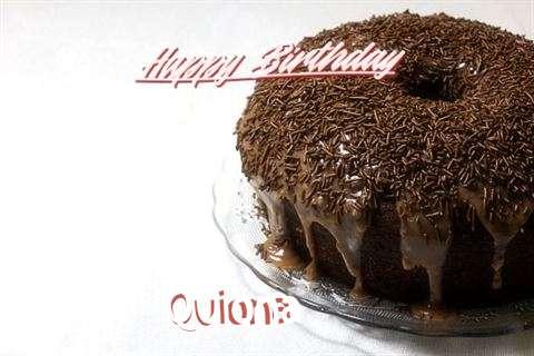 Happy Birthday Cake for Quiona