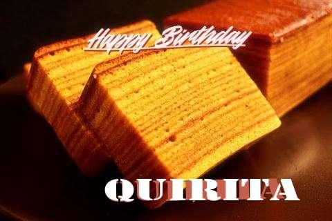 Happy Birthday Quirita Cake Image