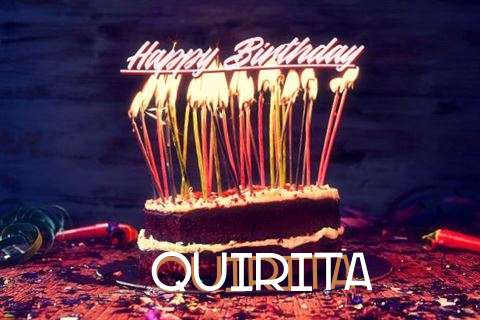 Quirita Birthday Celebration
