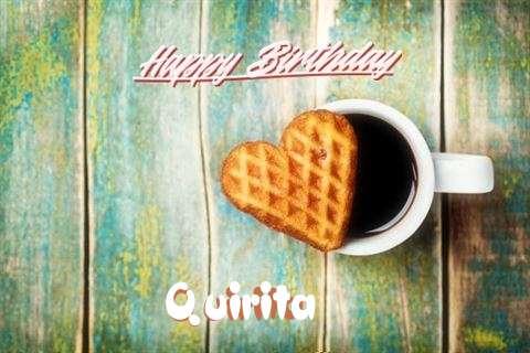 Happy Birthday Wishes for Quirita