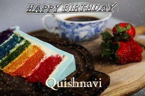 Happy Birthday Wishes for Quishnavi