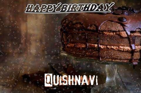 Happy Birthday Cake for Quishnavi
