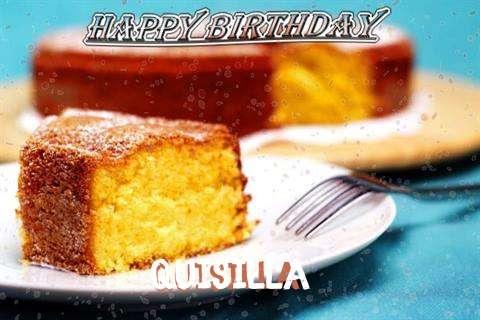 Happy Birthday Wishes for Quisilla