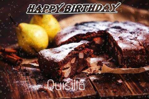 Happy Birthday to You Quisilla