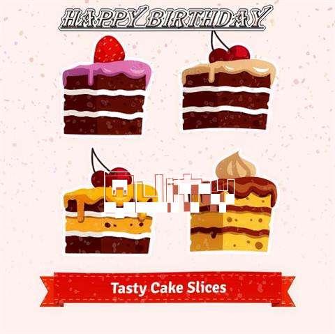 Happy Birthday Quity Cake Image