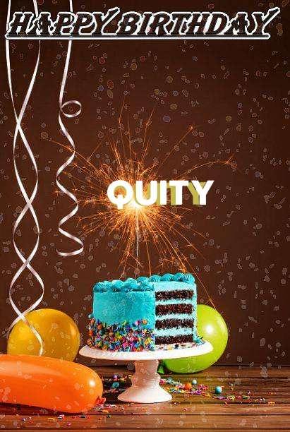 Happy Birthday Cake for Quity