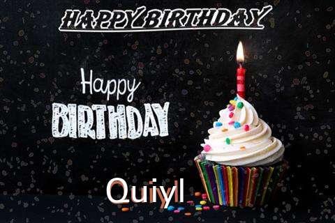 Happy Birthday to You Quiyl
