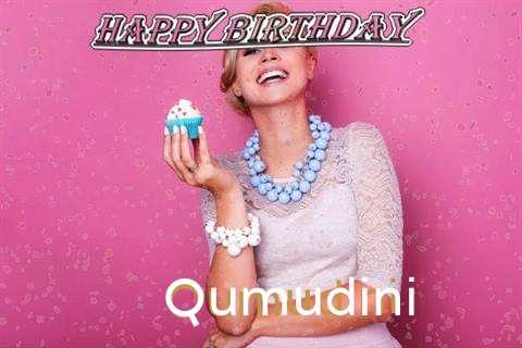 Happy Birthday Wishes for Qumudini