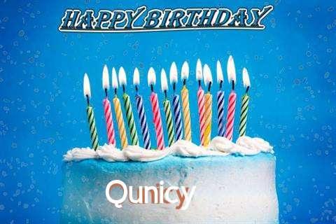 Happy Birthday Cake for Qunicy