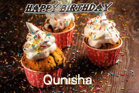 Happy Birthday Qunisha Cake Image