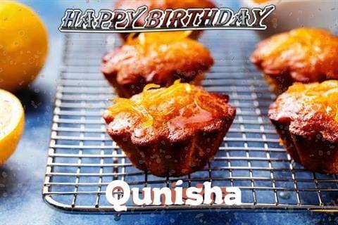 Happy Birthday Cake for Qunisha