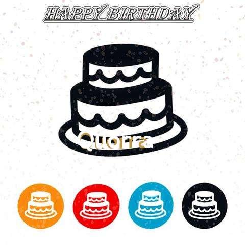 Happy Birthday Quorra Cake Image
