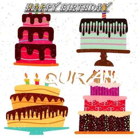 Happy Birthday Quran Cake Image