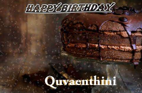 Happy Birthday Cake for Quvaenthini