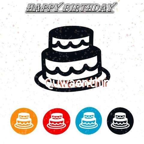 Happy Birthday Quwaenthini Cake Image