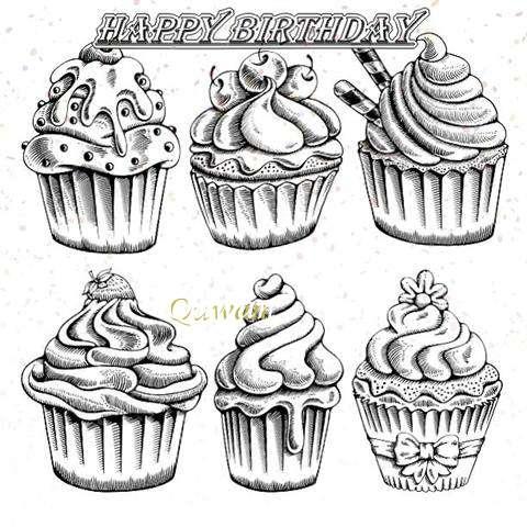 Happy Birthday Cake for Quwan