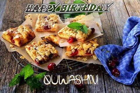 Happy Birthday Cake for Quwashni