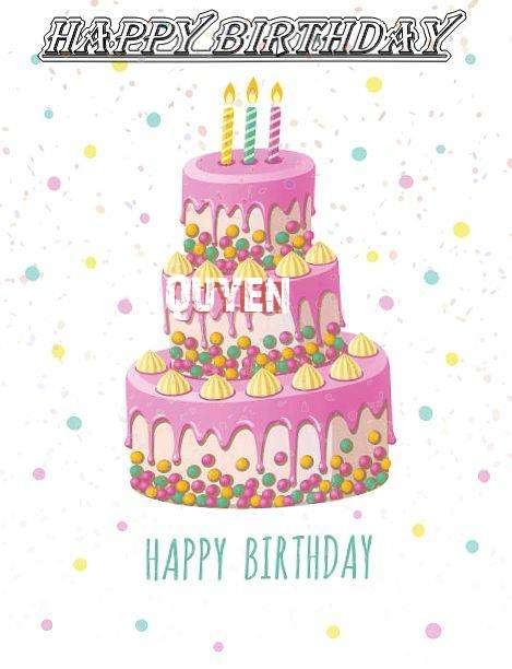 Happy Birthday Wishes for Quyen