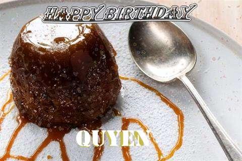 Happy Birthday Cake for Quyen
