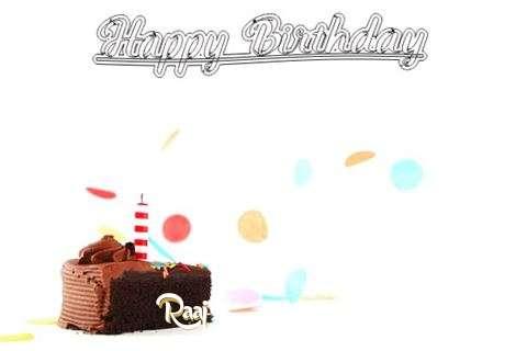 Happy Birthday Cake for Raaj