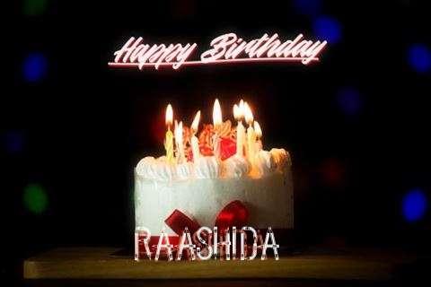 Birthday Wishes with Images of Raashida