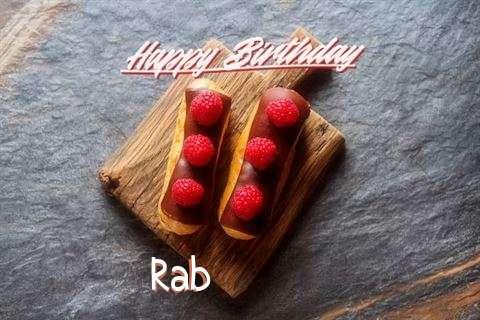 Happy Birthday to You Rab